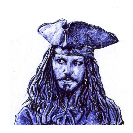 Johnny Depp par zepheus